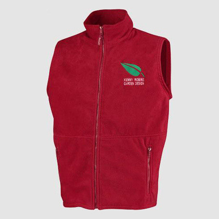 Personalisierte Fleece-Thermowesten